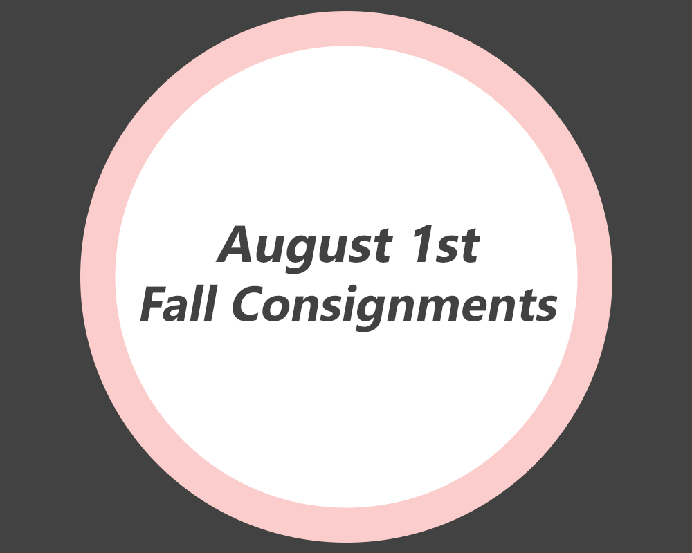 fall consignments